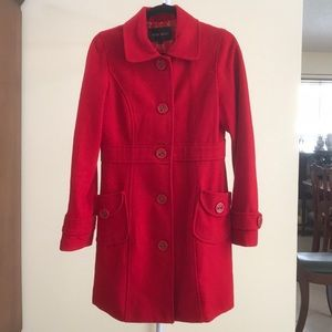 Nine West red coat